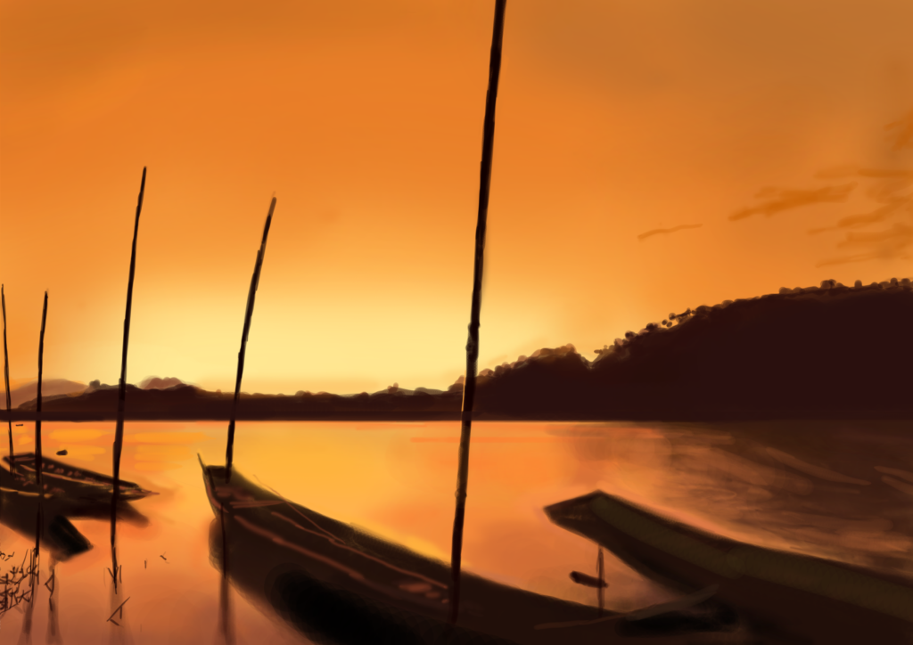 sunset_boats
